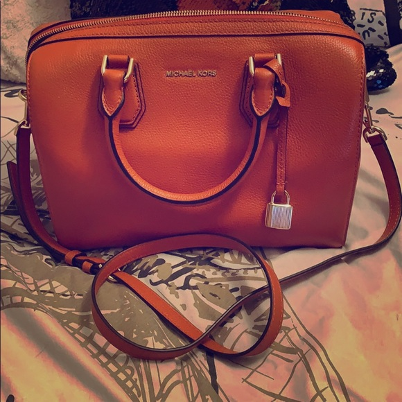 f240d26a3f70 Michael Kors Bags | Burnt Orange Purse | Poshmark